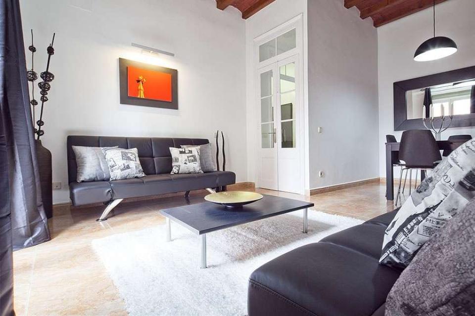 Chique appartement in eixample met een eigentijds scandinavisch