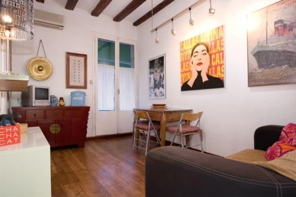 Artistieke woning te huur in ciutat vella barcelona home