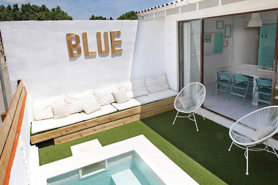 fb7714c183e6b Alquiler de casa con encanto mediterráneo cerca de playa en Barcelona