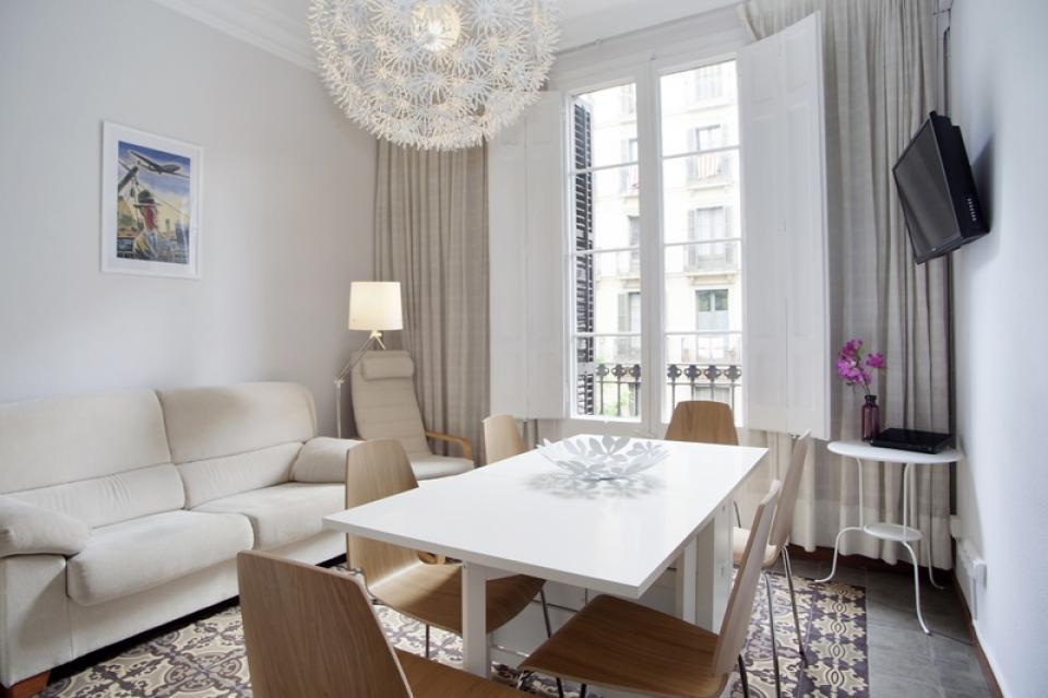 Fabuloso piso modernista en alquiler en eixample barcelona home - Pisos eixample ...