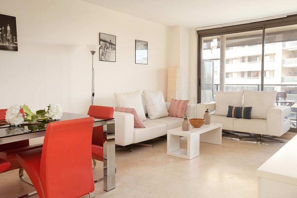 Apartamento en barcelona con terraza cerca de la playa barcelona home - Apartamentos en barcelona booking ...
