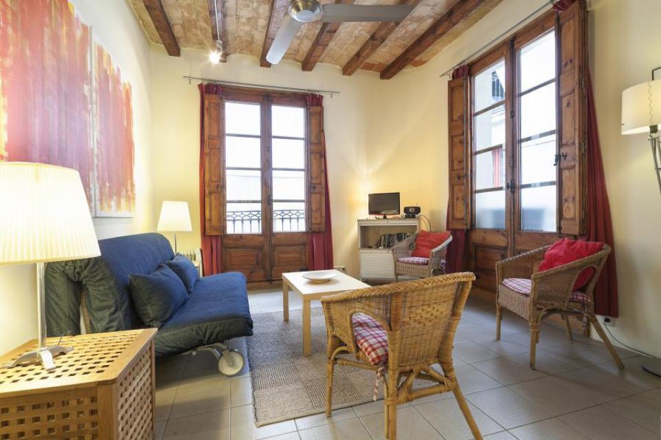 Liceo apartamento en barcelona barcelona home - Apartamentos en barcelona booking ...