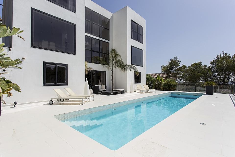 Luxe eigentijdse design villa olivella sitges barcelona home