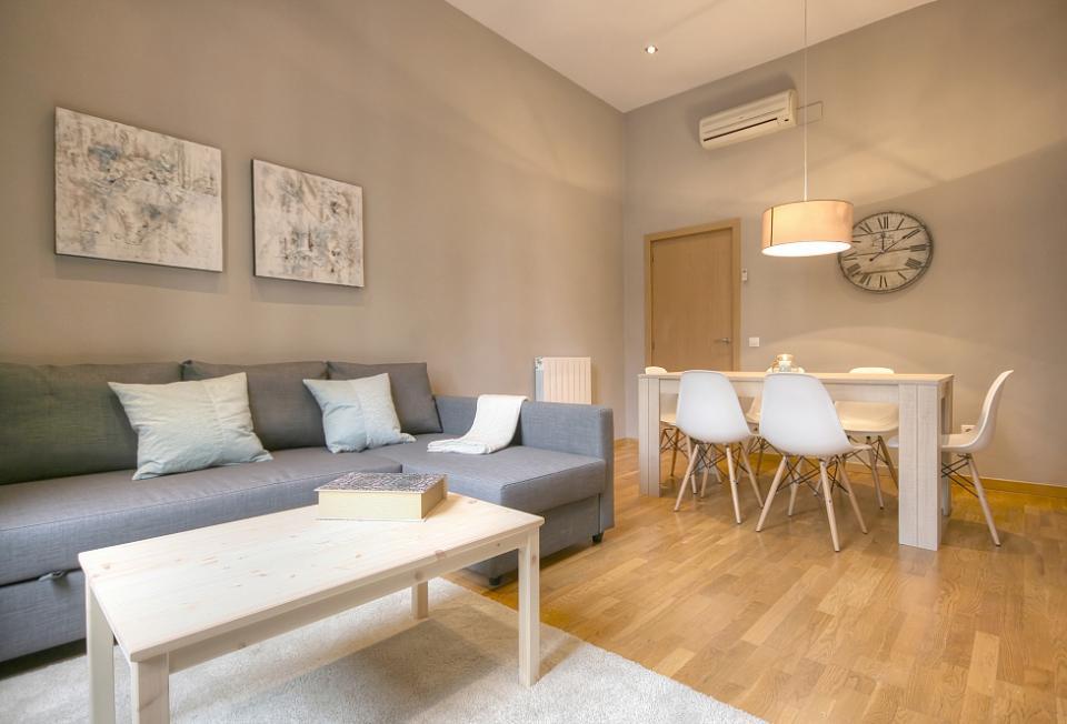 interiør design Interiør design, storslåede 2 værelses lejlighed | Barcelona Home interiør design