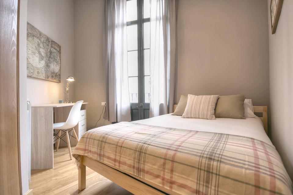 Interior design magnifico appartamento 2 camere da letto barcelona home - Letto barcellona ...