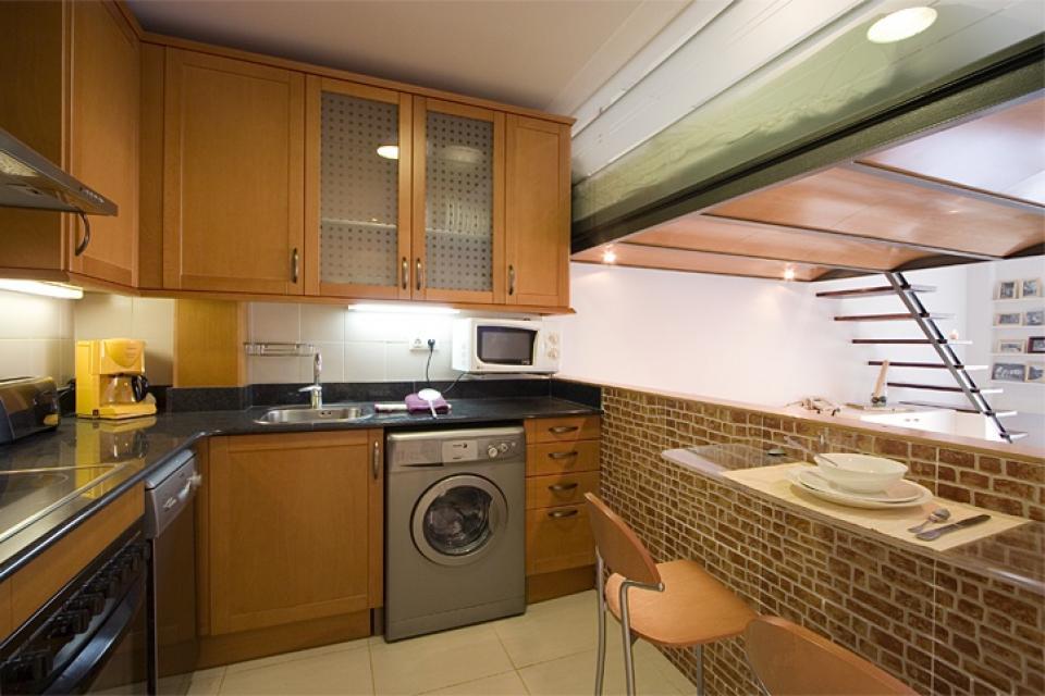 C ntrico apartamento barcelona barcelona home - Apartamentos en barcelona booking ...
