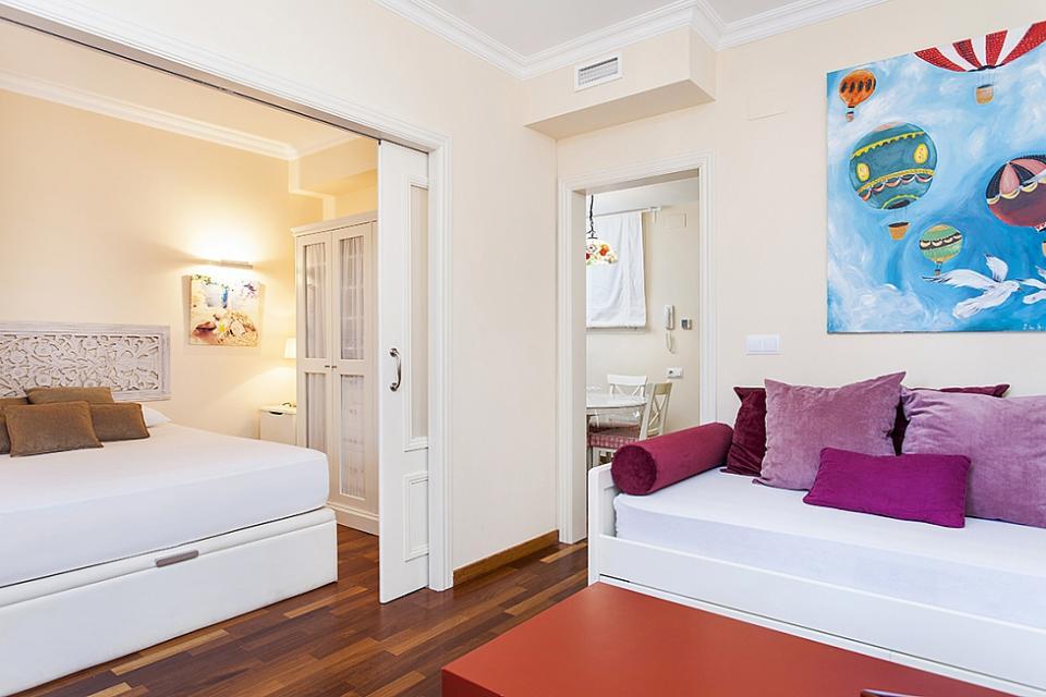 1 camera da letto appartamenti barcellona barcelona home - Letto barcellona ...