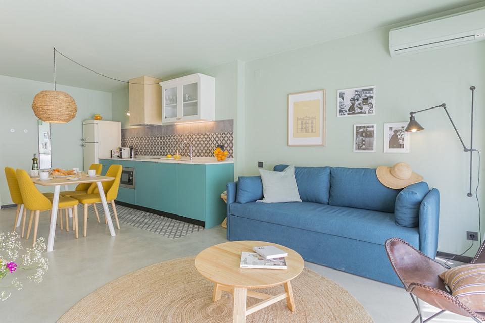 Appartement avec piscine commune et 1 chambre la sagrera for Chambre commune