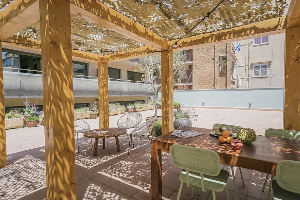 Sant andreu appartamento piscina barcelona home for Piscina sant andreu