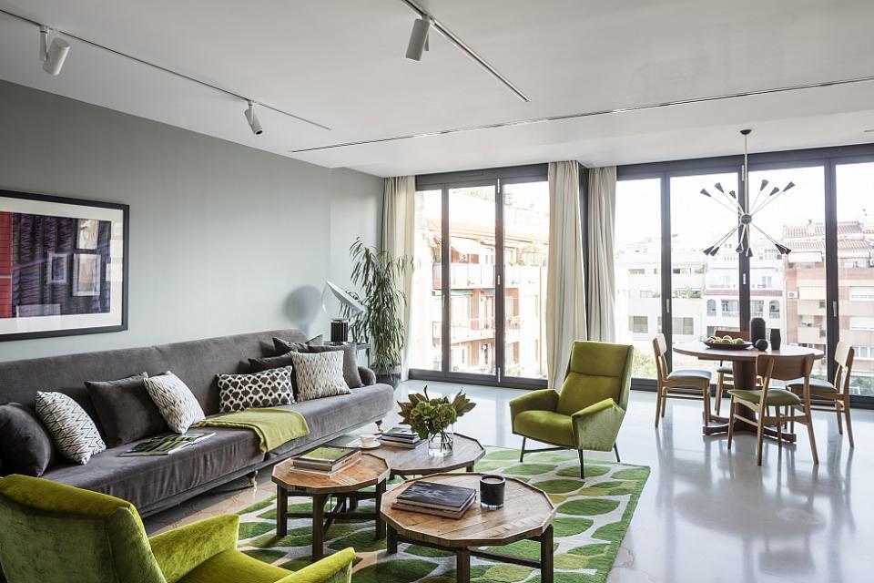 3 slaapkamer luxe appartement met zwembad op het dak barcelona home