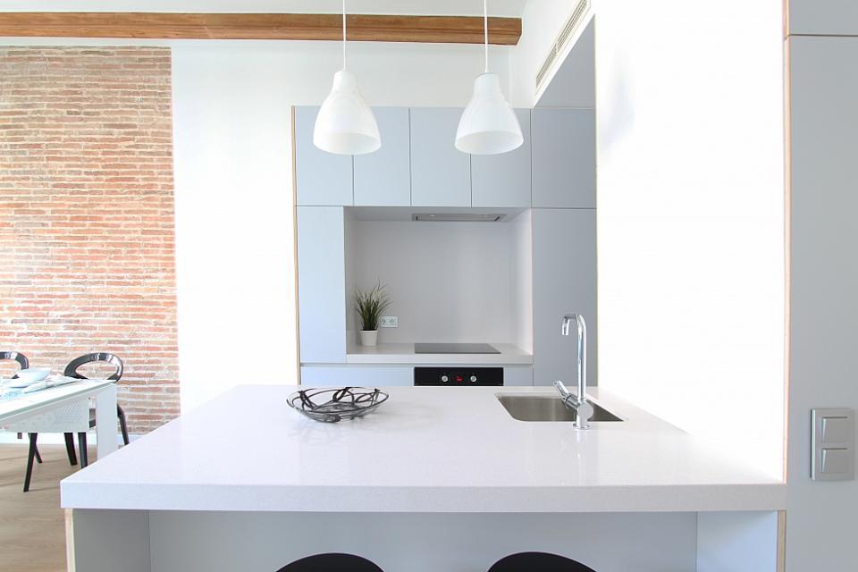 Appartamento di design con 3 camere da letto eixample for Appartamento con 3 camere da letto