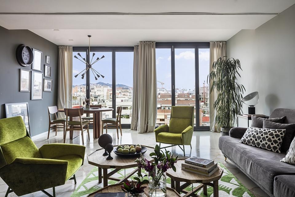 Lussuoso appartamento di 4 camere da letto a barcellona barcelona home - Letto barcellona ...