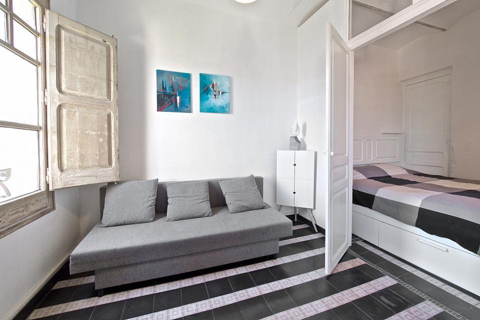 1 Slaapkamer Appartement : Stijlvol slaapkamer appartement sant antoni barcelona home