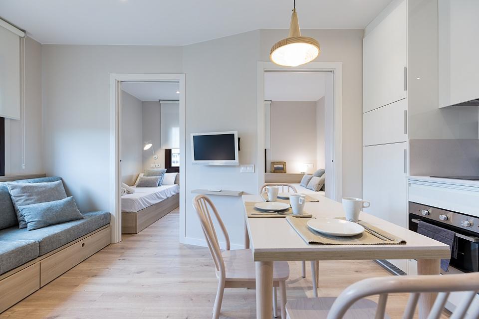 Stijlvol appartement met twee slaapkamers, Barcelona | Barcelona-Home