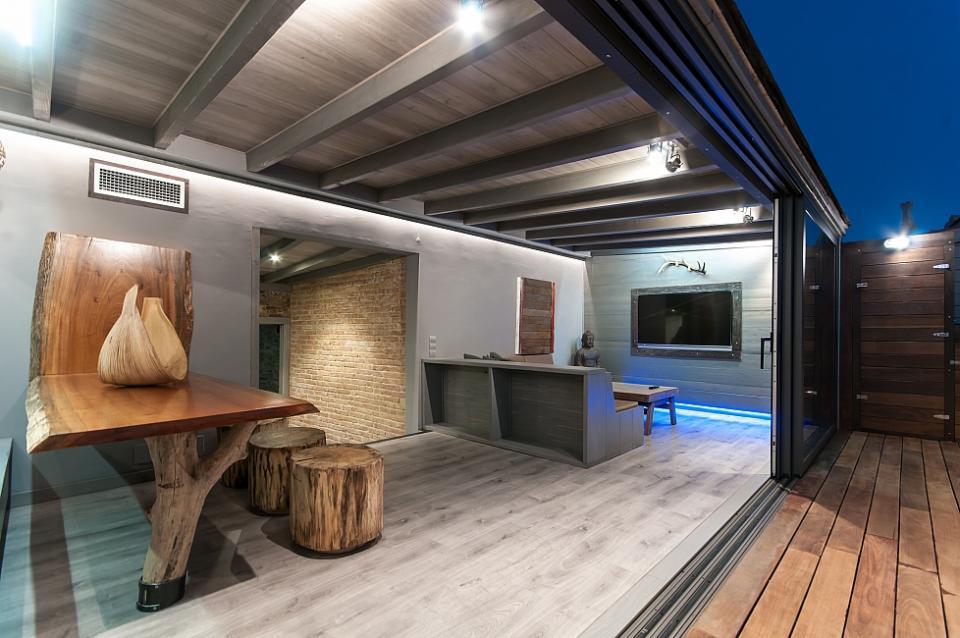 Atemberaubendes penthouse mit terrasse barcelona home
