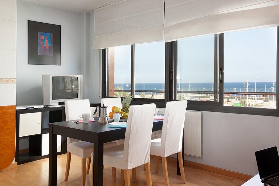 Barcelona apartment with sea view barcelona home - Alquiler apartamentos turisticos ...